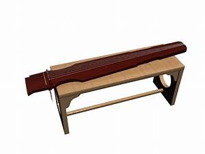 chinese 7 stringed guzheng 3d model 3dsmax files free With what kind of paint to use on kitchen cabinets for musical instrument wall art