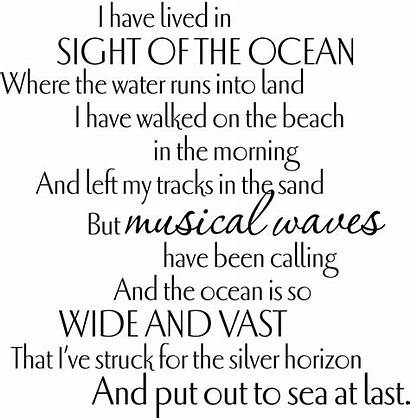Funeral Poems Quotes Tribute Memorial Poem Ocean