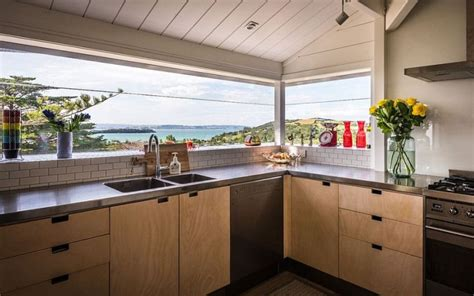 cuisine de reve agencement cuisine de rêve avec vue sur la mer et l 39 océan