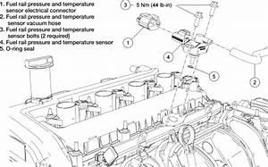 Ford Freestyle Fuel Rail Pressure Sensor  Ford  Free