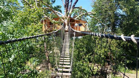 chambre cabane dans les arbres cabane dans les arbres en normandie