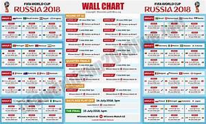 Printable Fifa World Cup 2018 Free Wallchart Pdf Download