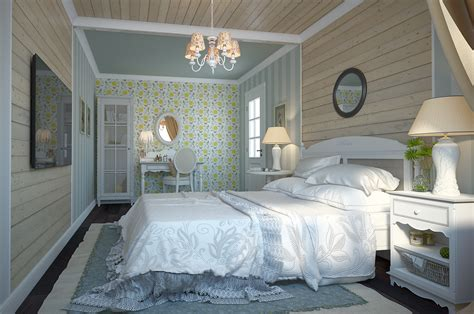 The Bedroom In The Provence Style by 3d Design Provence Style For Bedroom