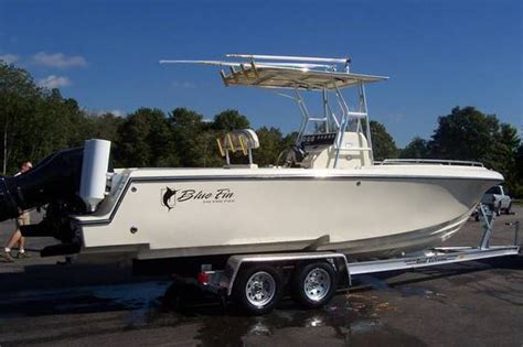 Bluefin Boats by Research Blue Fin Boats Pro Fish 250 Cc Center Console
