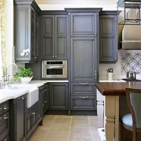 rustic grey kitchen cabinets 17 sleek grey kitchen ideas modern interior design