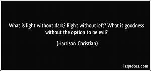 Quotes About Da... Darkness And Evil Quotes