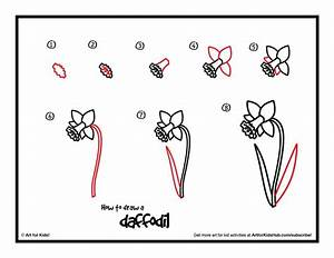 Step Drawings Of Flowers To Draw A Flower Drawing Guide ...