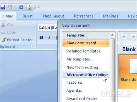 how to create a template in word how to create a memo in word