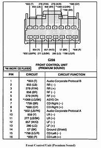 2000 01 Ford Explorer Radio Wiring Diagrams