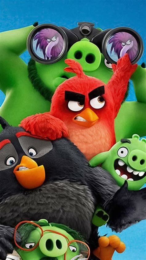 wallpaper  angry birds   poster  movies