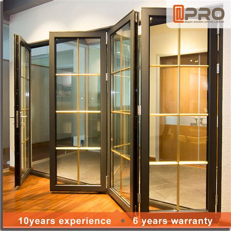 2015 sell china folding bifold door folding patio