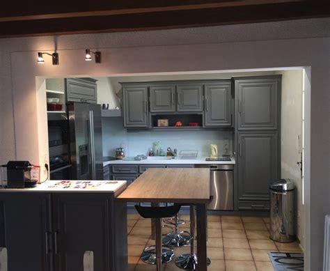 grande cuisine ouverte placard cuisine moderne meuble cuisine moderne ilot u2013
