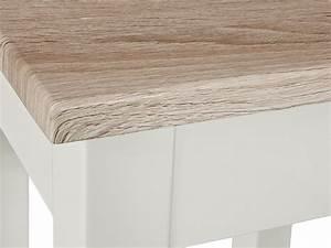 Beistelltisch Eiche Weiß : beistelltisch wei platte sonoma eiche s gerau 56x30x52 ~ Frokenaadalensverden.com Haus und Dekorationen
