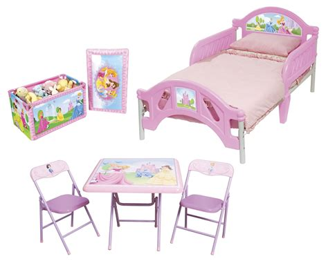 delta children disney princess room in a box with foldable