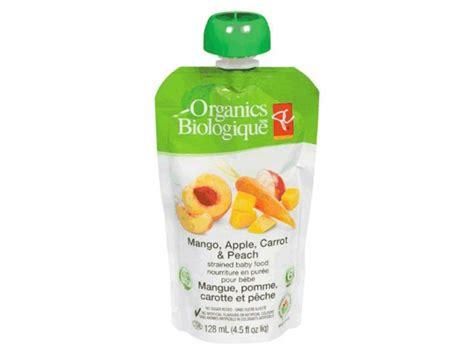 Massive Recall Pc Organics Baby Food Recalled Due To