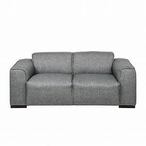 2 Sitzer Sofa Zum Ausziehen : sofa stoff grau 2 sitzer couch neu ebay ~ Bigdaddyawards.com Haus und Dekorationen