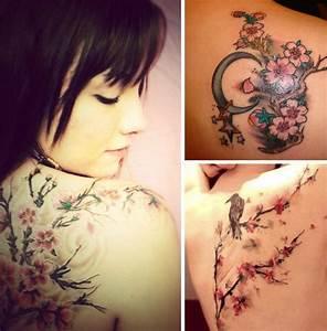 Tatouage Arbre Japonais : un air de printemps japonais avec un tatouage de fleurs ~ Melissatoandfro.com Idées de Décoration