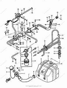 Kawasaki Jet Ski 1988 Oem Parts Diagram For Fuel Tank