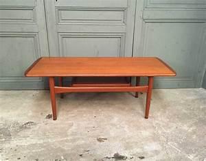 Table Basse Scandinave Vintage : table basse style scandinave ~ Teatrodelosmanantiales.com Idées de Décoration