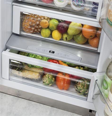 monogram zispdkss   built  side  side refrigerator  adjustable glass shelves