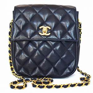 Designer Quilted Crossbody Bags Chanel Vintage Quilted Lambskin Flap Bag Dreamlux Studio