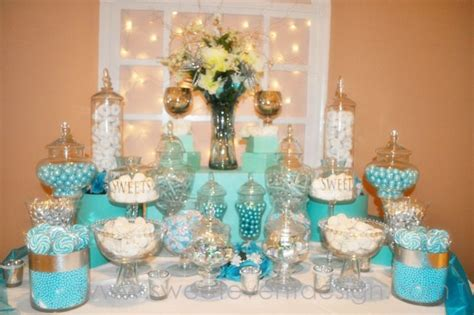 tiffany buffet table ls blue candy buffet ideas wedding ideas tiffany blue with