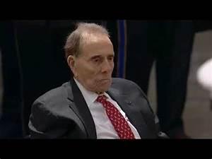 Bob Dole salutes George HW Bush's casket - YouTube