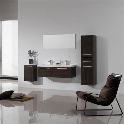 mobili con lavabo composizione bagno con mobili sospesi doppio lavabo