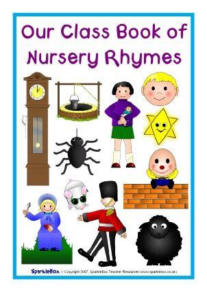 general nursery rhymes teaching resources  printables