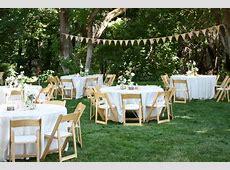 Top Backyard Wedding Decorations With Rustic Backyard