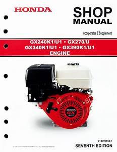 Honda Gx390 Engine Workshop Manual