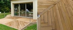 Installer Une Terrasse En Bois : installation d une terrasse bois et composites angers 49 charpentier angers a r c m ~ Farleysfitness.com Idées de Décoration