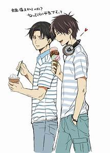 Levi & Eren | Attack on Titan | Pinterest | Levi ackerman ...