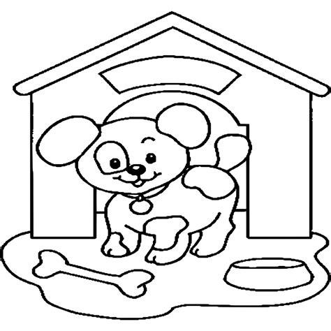 Kleurplaat Printen Puppie by Kleurplaten Honden Puppies Nieuwe Honden Tekeningen