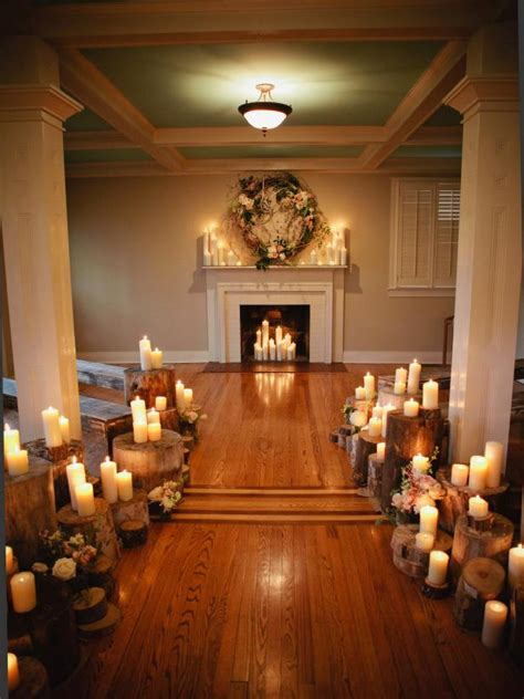 wedding altar  aisle decor diy