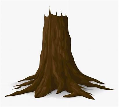 Trunk Tree Clipart Transparent Wood Kindpng
