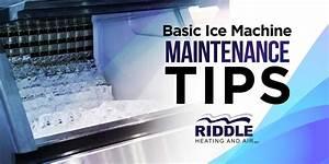Basic Ice Machine Maintenance Tips