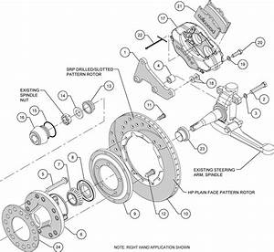 wilwood disc brake kit1957 1962 chevy corvette11quot rotors With brake disc diagram