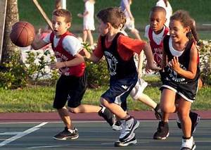 Kids-playing-basketball-benefits - Casey's Pub