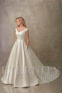 sleek and simple wedding dresses from eternity bride With sleek wedding dresses