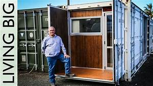 Boat Builder39s Incredible 20ft Shipping Container Home