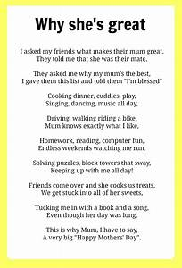 Mothers' Day poems | Poem | Pinterest | Poem, She s and Crafts