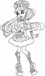 new monster high dolls 2014 coloring pages: January 2014