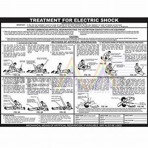 Electric Shock Treatment Chart  Size  24 X 18 Inch  Rs 70