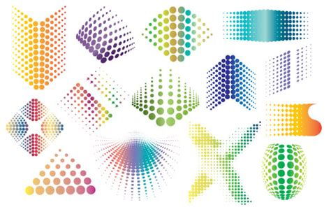 11 Free Vector Halftone Dot Pattern Images