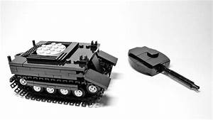 How To Build The Lego Tank