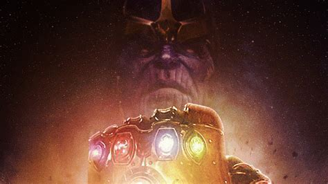 Thanos Infinity Gauntlet Avengers Infi Hd Wallpaper 257