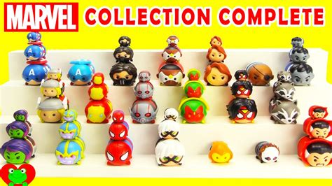 tsum tsum edition marvel tsum tsum collection complete with limited edition