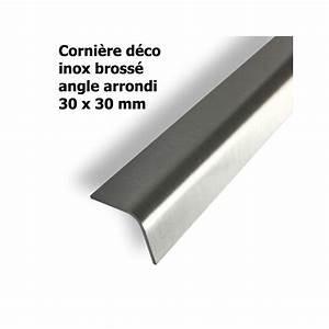 Baguette D Angle Inox : corni re inox bross 30x30x1 5 mm longueur 2 m ~ Melissatoandfro.com Idées de Décoration