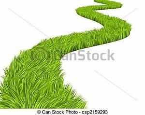 Dibujos de verde, camino Conceptual, imagen, , camino, con, csp2159293 Buscar Clipart